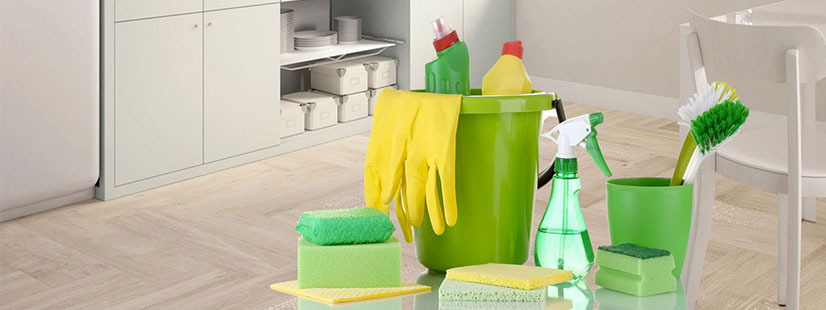 Specific Area of House Cleaning